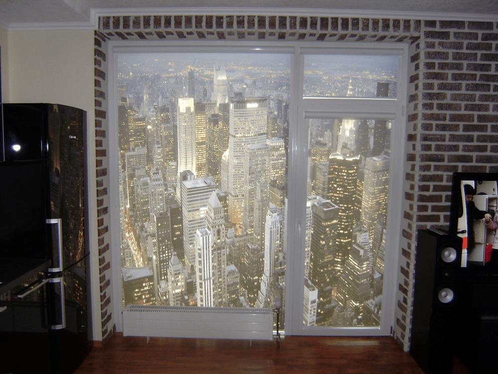 Печать на рулонной шторе