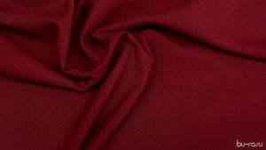 Габардин бордовый (вишнёвый)