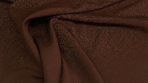 Габардин тёмно-коричневый