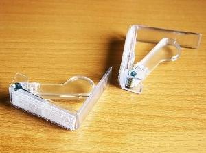 Клипсы для крепления фуршетных юбок на столешницы до 5 см